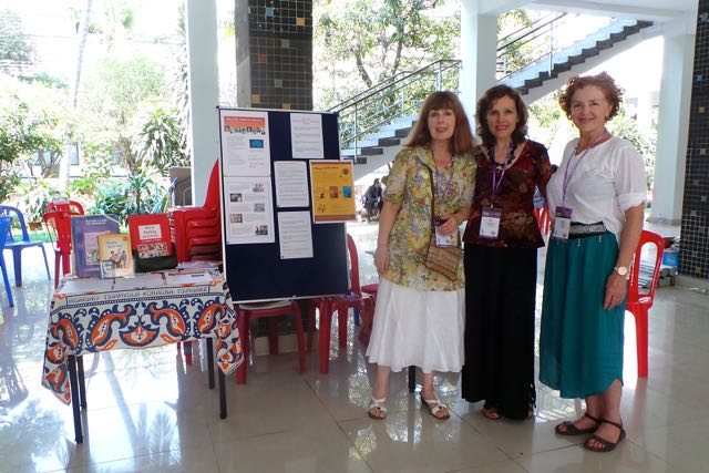 At the CamTESOL conference